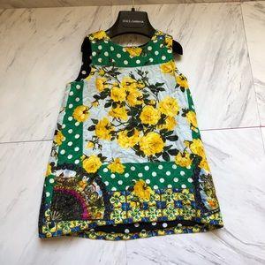 a19ca659 Dolce & Gabbana Dresses - Dolce and Gabbana Little Girl's Floral Dress
